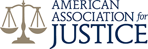 Logo Recognizing Robert Abell Law's affiliation with the American Association for Justice