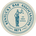 Logo Recognizing Robert Abell Law's affiliation with the Kentucky Bar Association
