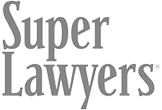 Logo Recognizing Robert Abell Law's affiliation with Super Lawyers
